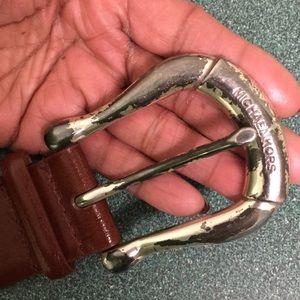 Micheal Kors vintage leather belt